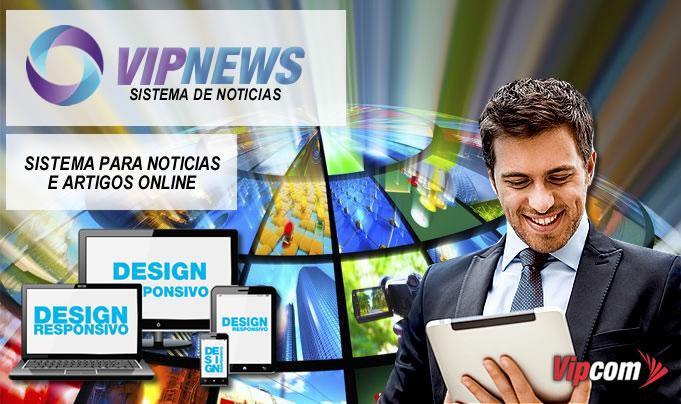 Venha criar seu site de portal de notícias