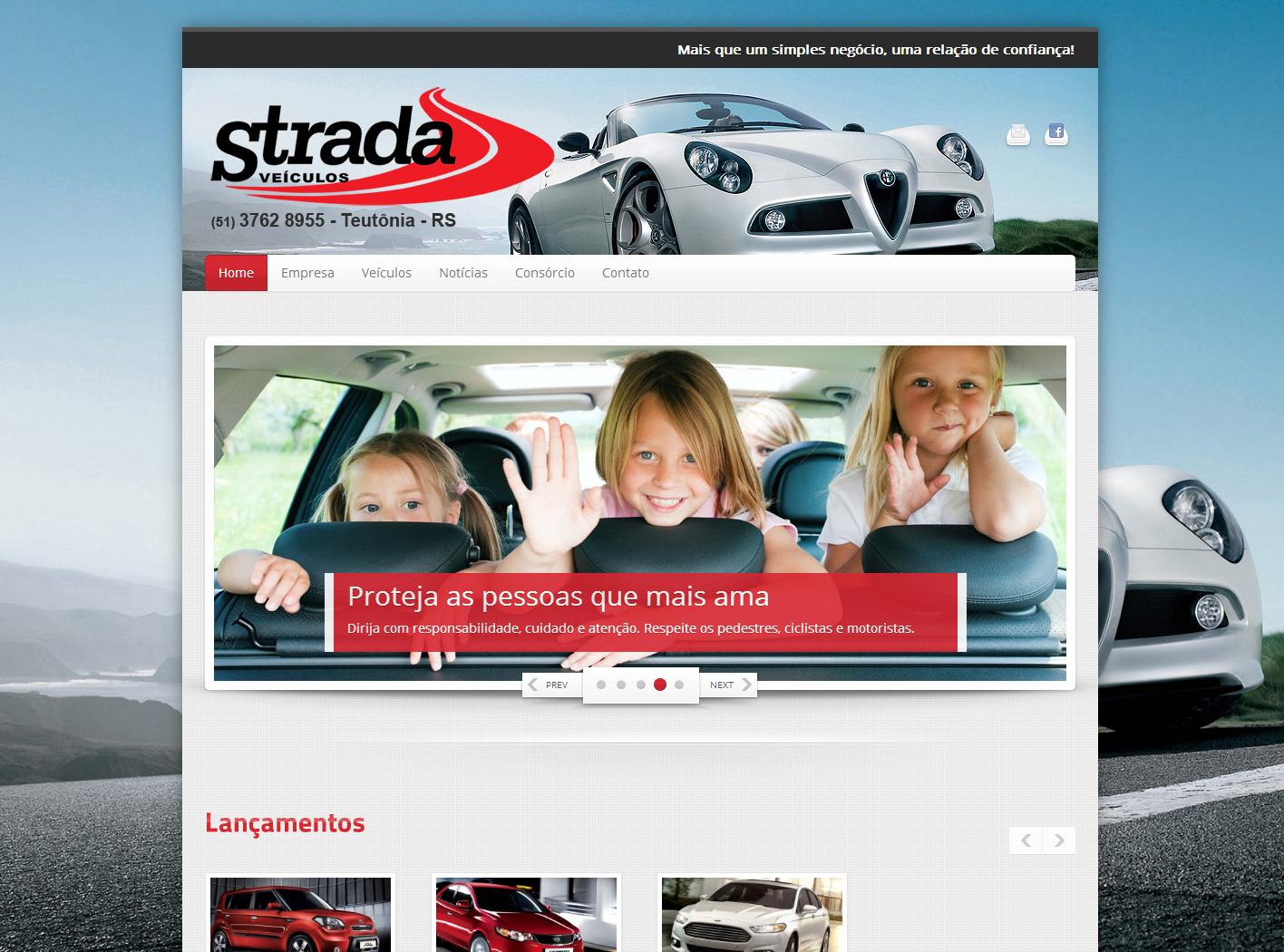 site para lojas de veículos e revendas