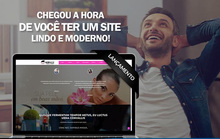 Criar site completo responsivo