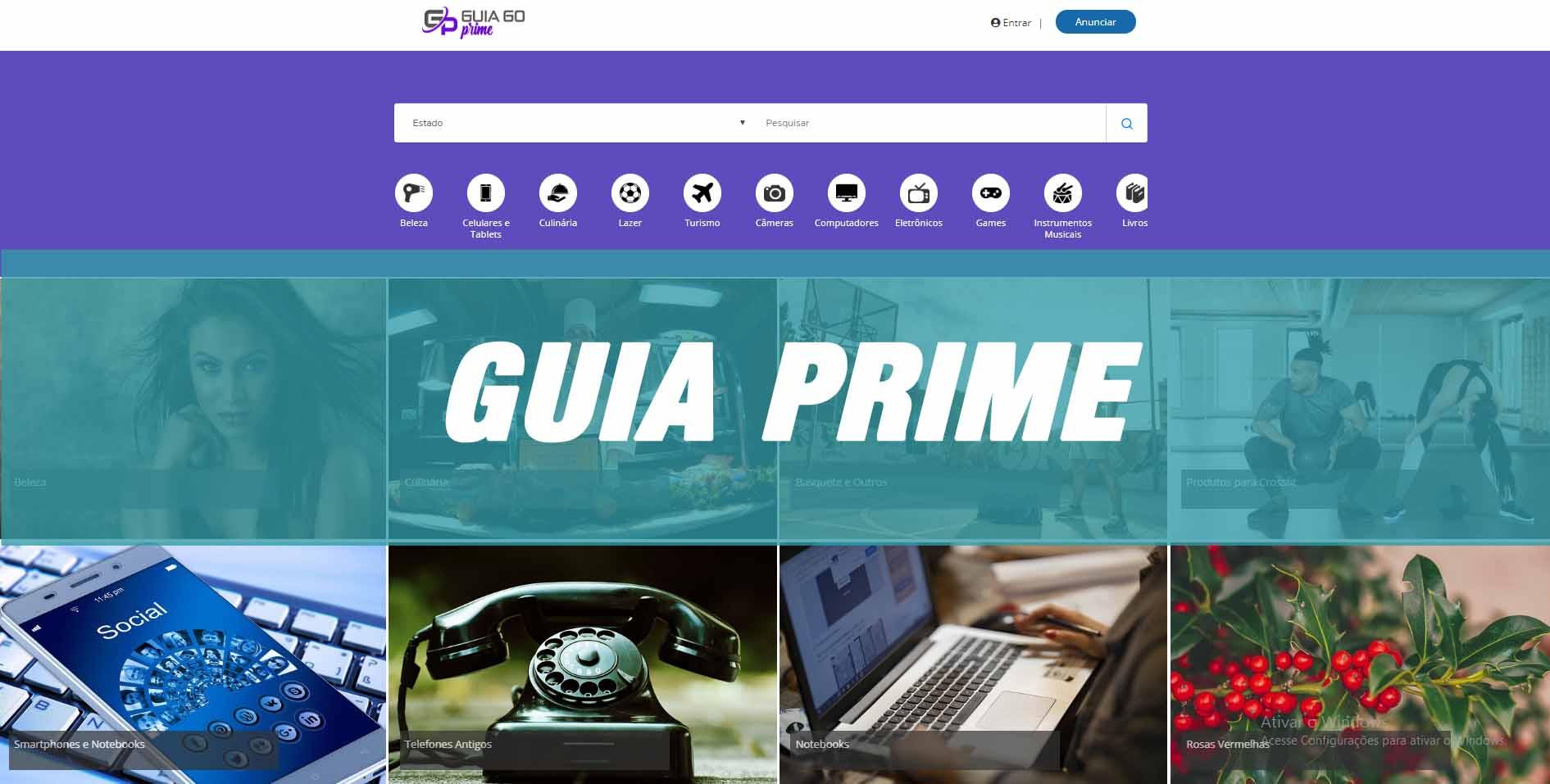 criar site guiacomercial online