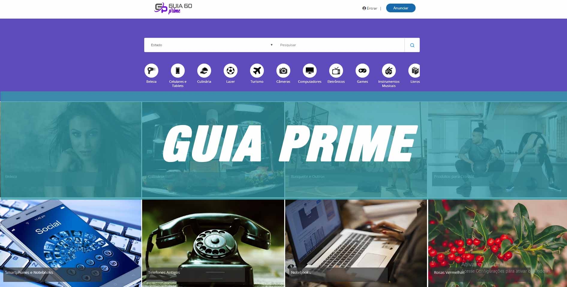 Fazer site de guia comercial sript php